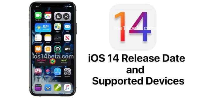 ios 14 release date supported devices