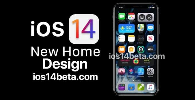 ios 14 beta home screen widget