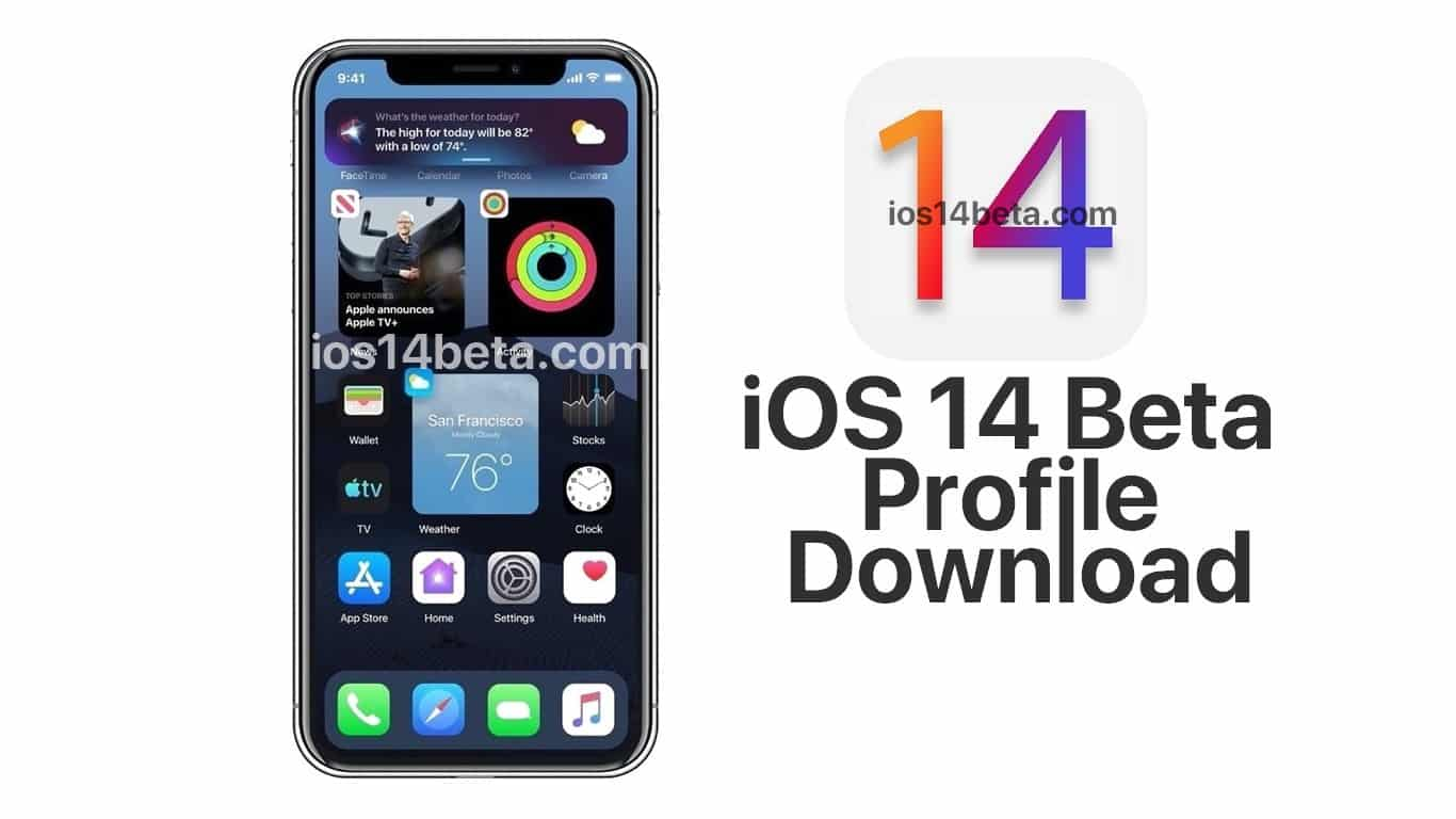 Ios 14 Beta Profile Download Ios 14 Beta Download