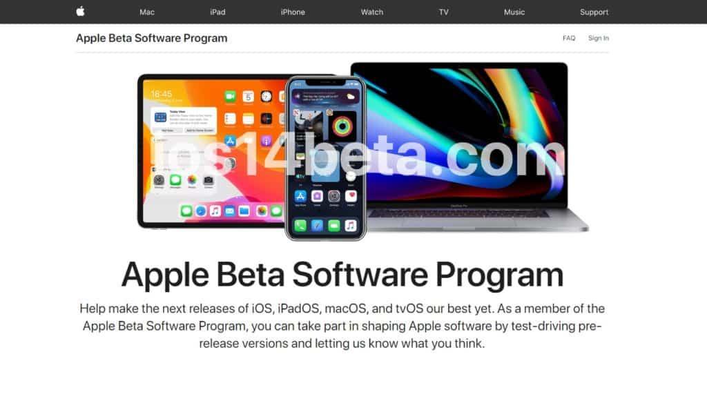 ios 14 public beta 3