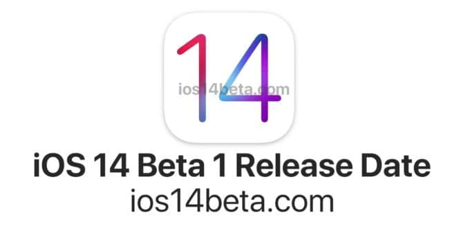 iOS 14 Beta 1 Release Date