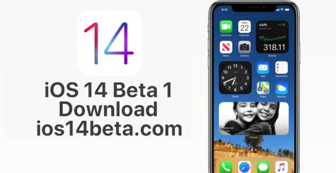 ios 14 beta 1 download