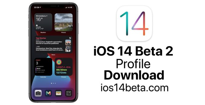 iOS 14 Beta Profile 2 Download
