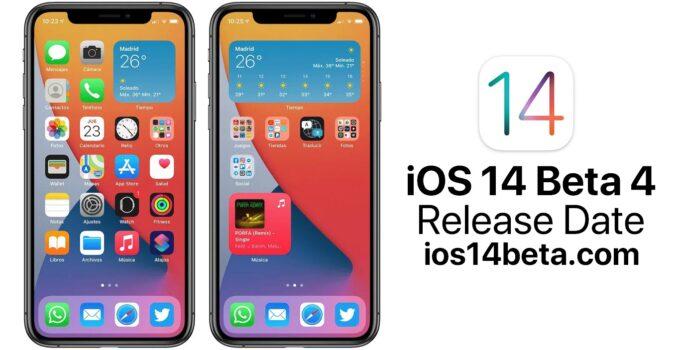 iOS 14 Beta 4 Release Date