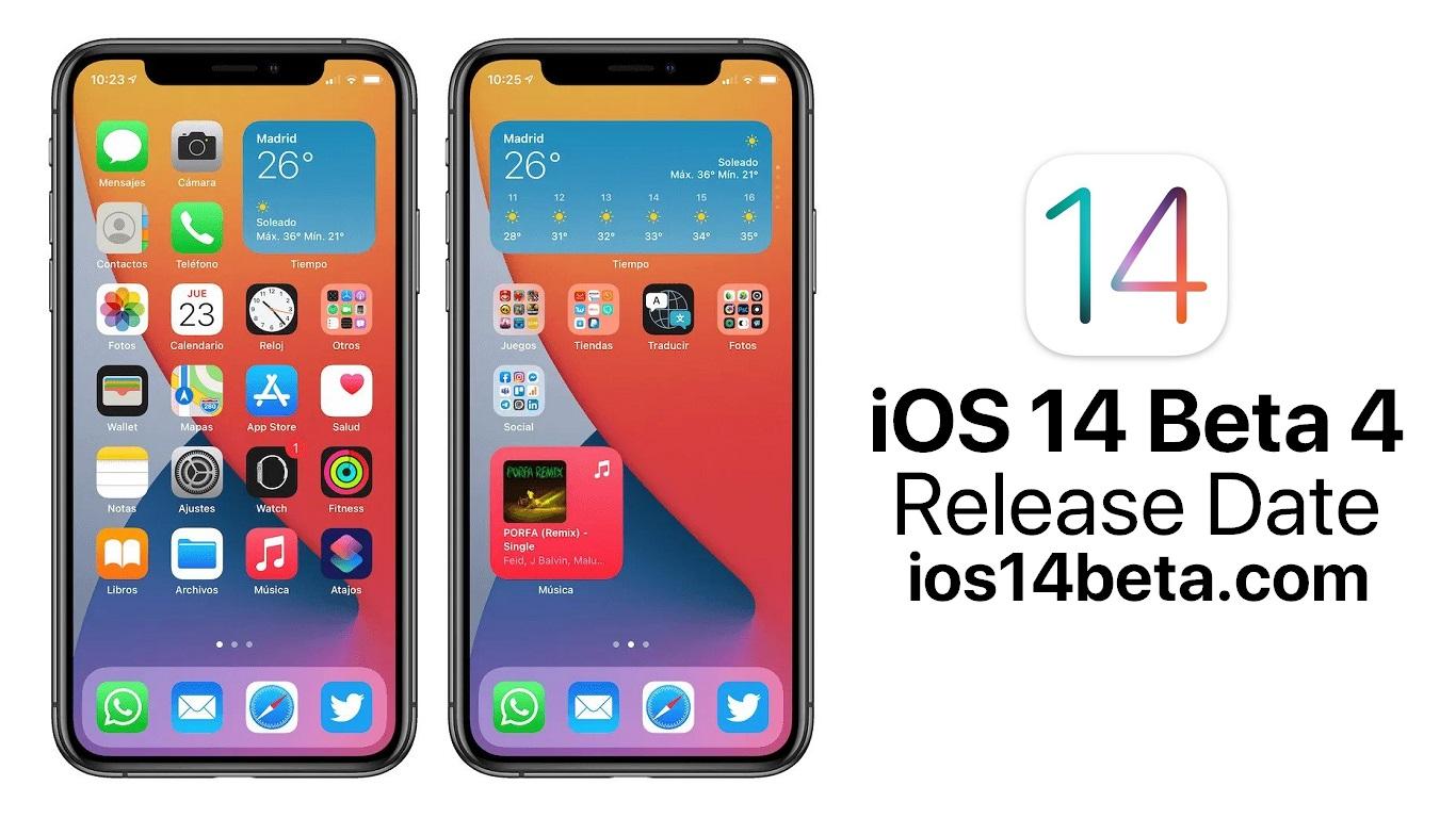 iOS 14 Beta 4 Release Date - iOS 14 Beta Download