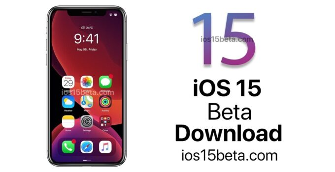 ios 15 beta download