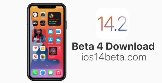 iOS 14.2 Beta 4 Download