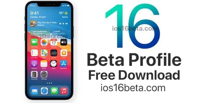 iOS 16 Beta Profile Download